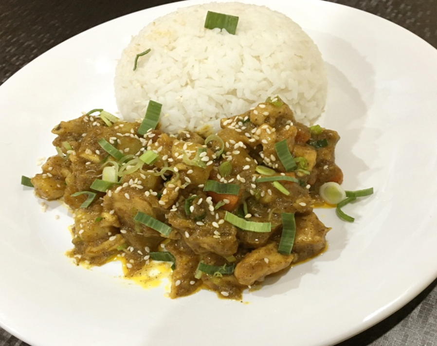 Japanese Curry Chicken Rice Recipe by Dapur Sinolin