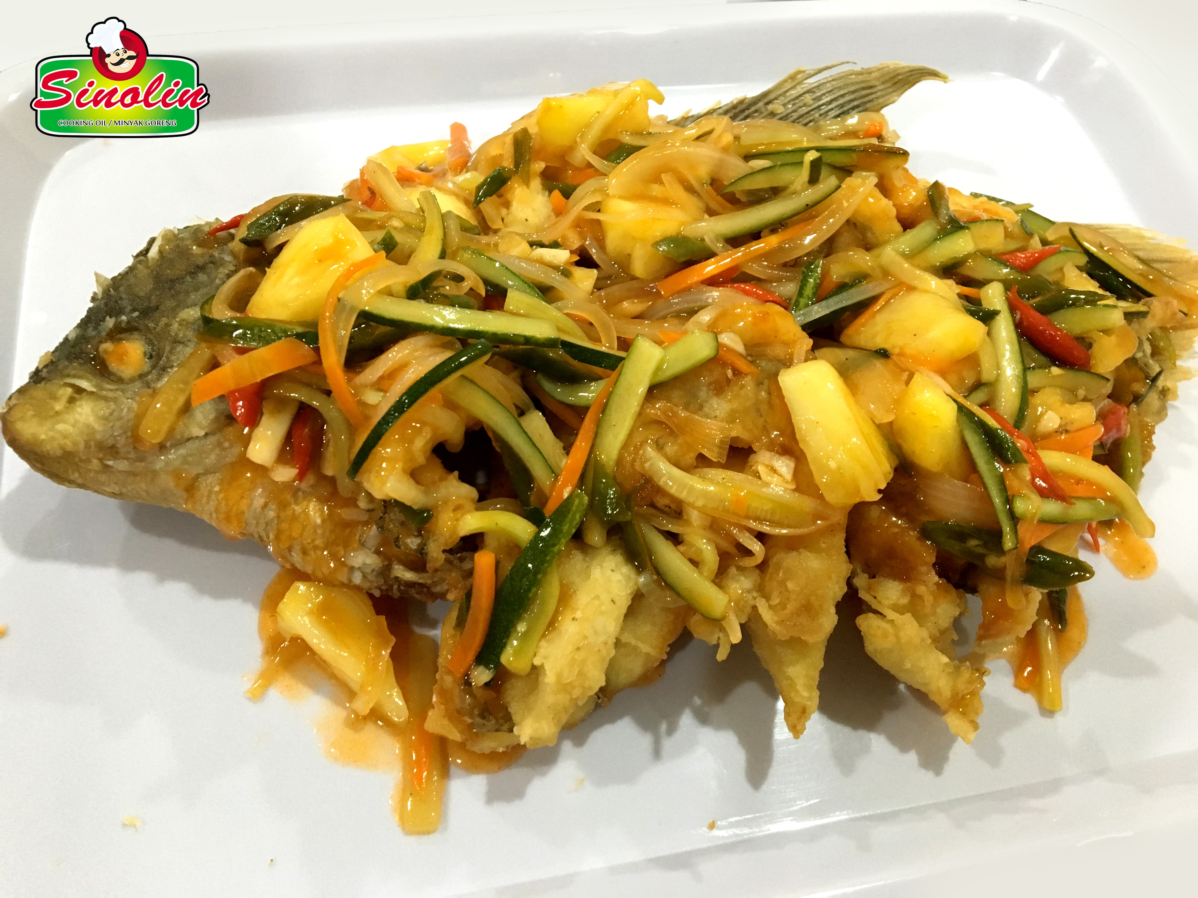 Sweet and Sour Carp Fish Recipe by Dapur Sinolin