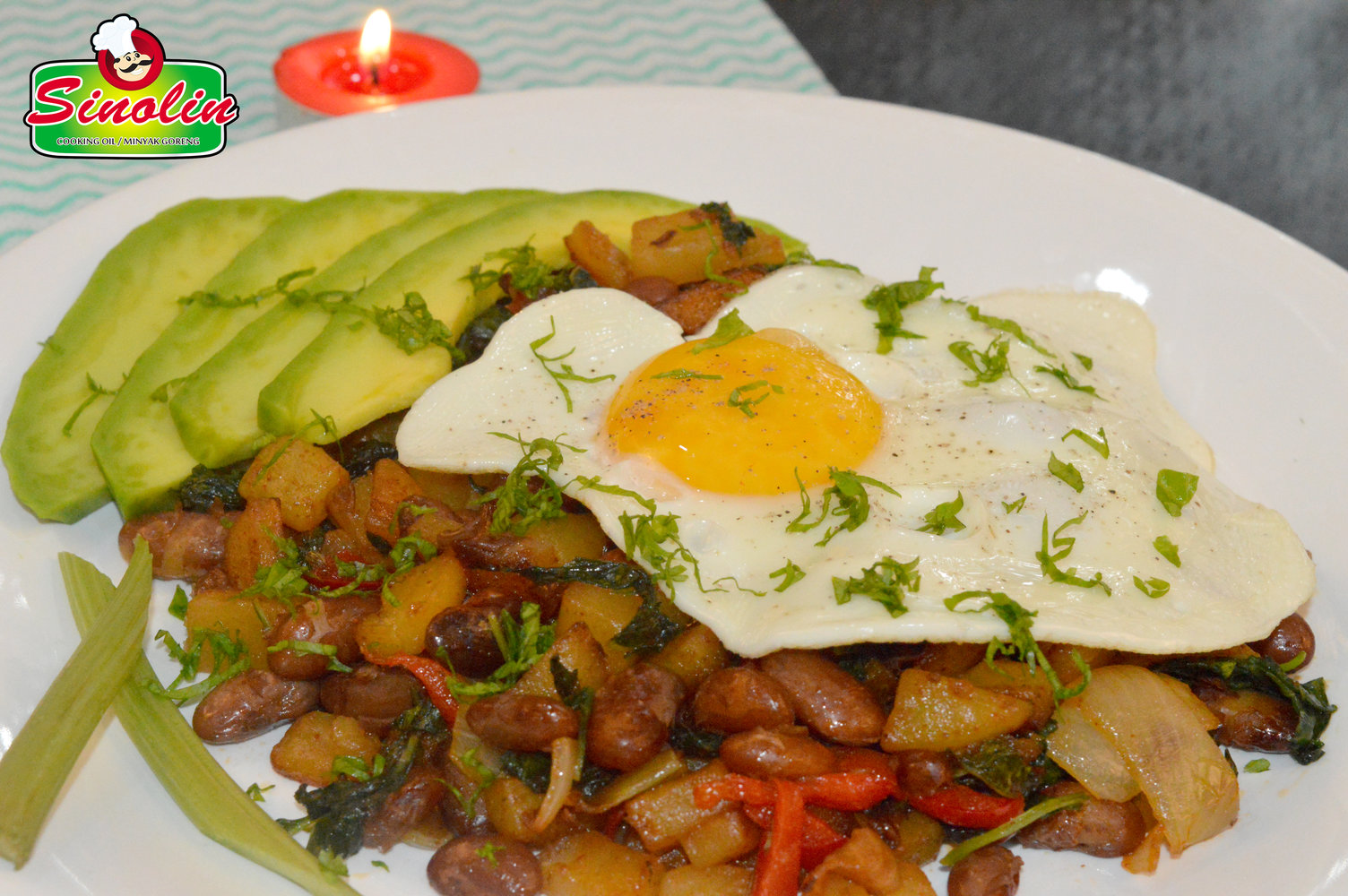 Potato With Red Bean Hash Recipe by Dapur Sinolin