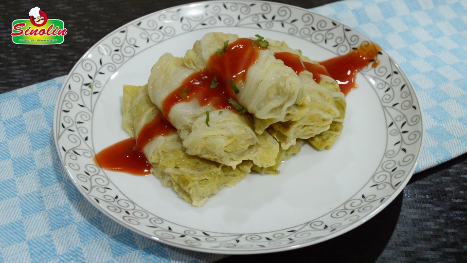Steamed Stuffed Cabbage Roll Recipe by Dapur Sinolin
