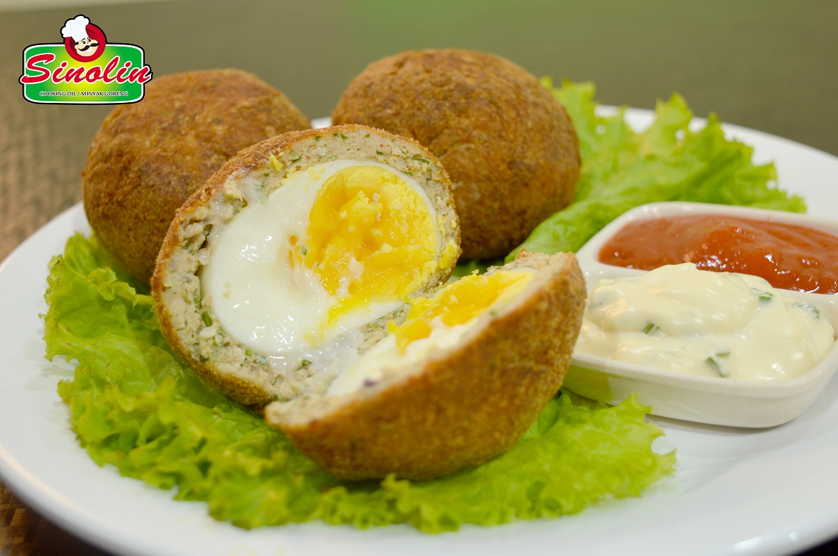 Crispy Indian Scotch Eggs Recipe by Dapur Sinolin