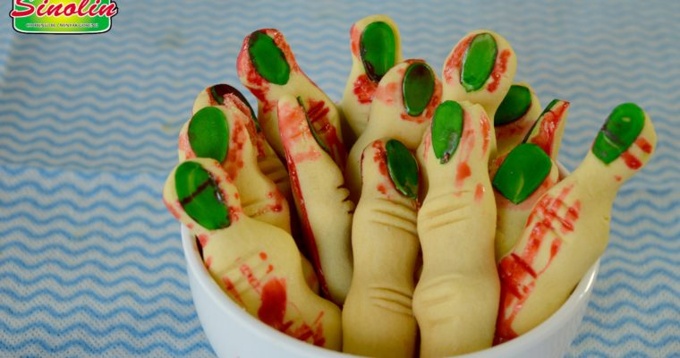Resep Biskuit Jari Halloween oleh Dapur Sinolin