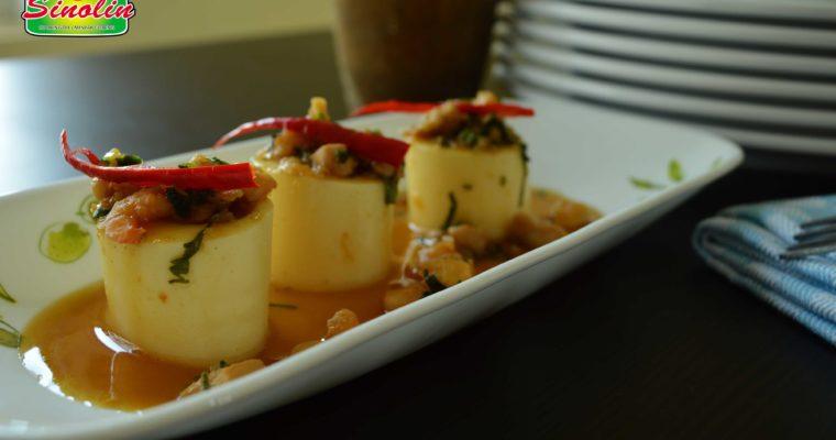 Tofu dengan Udang dan Jamur | Dapur Sinolin