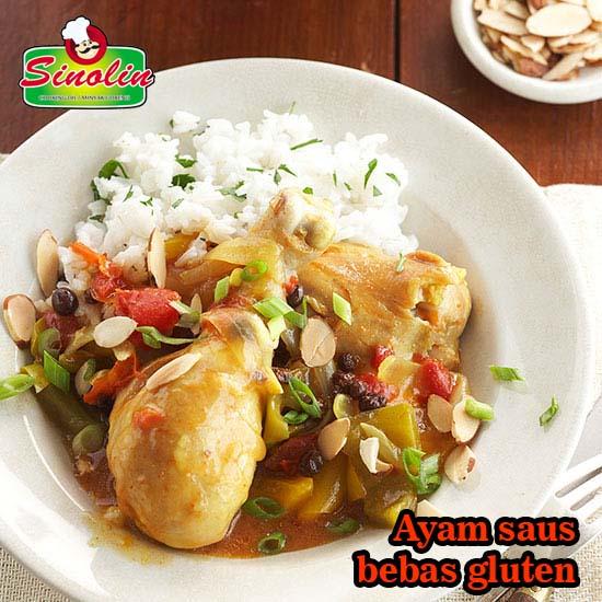 Ayam Saus Bebas Gluten