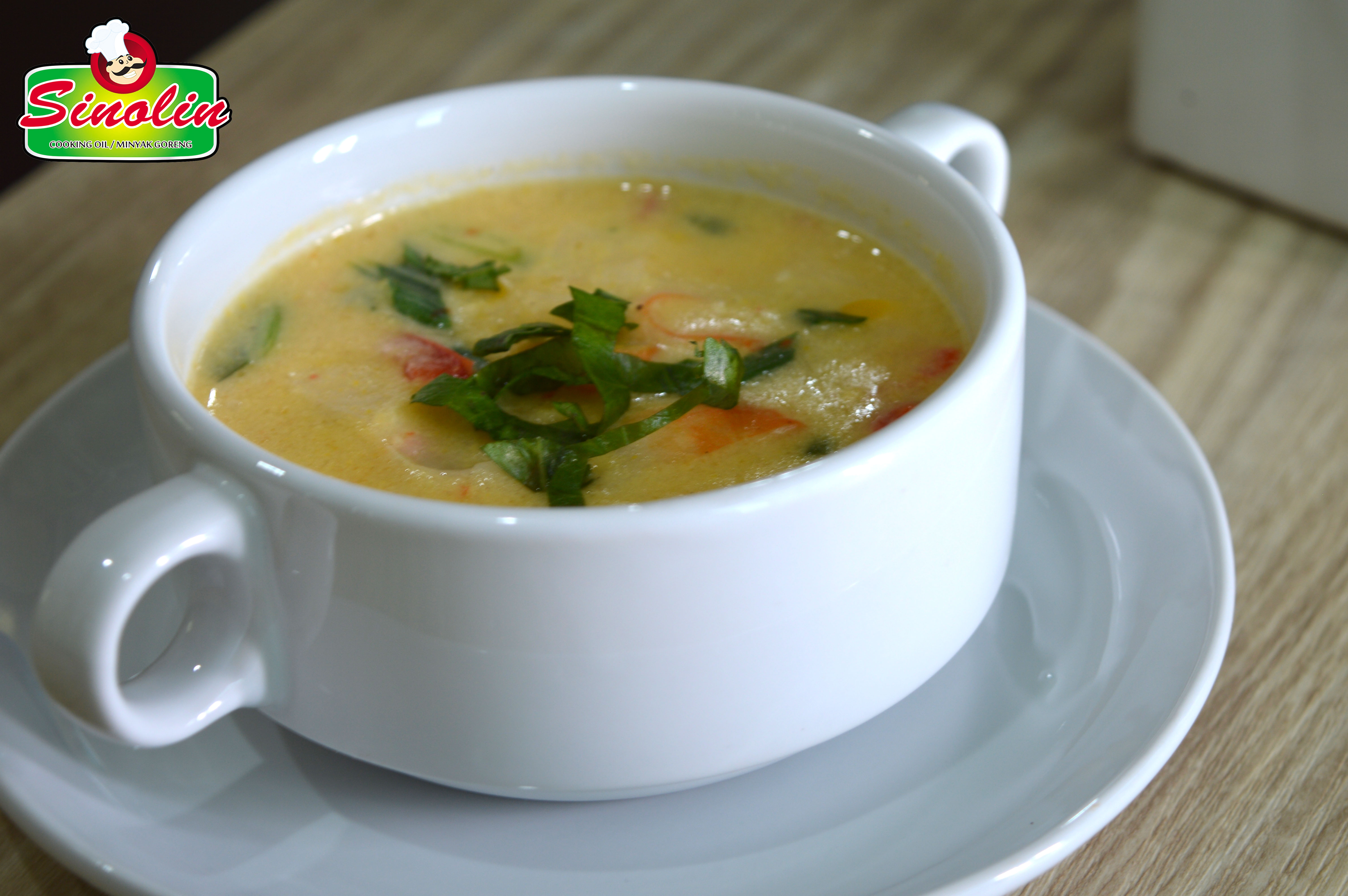 CRAB AND SWEETCORN CHOWDER by Dapur Sinolin