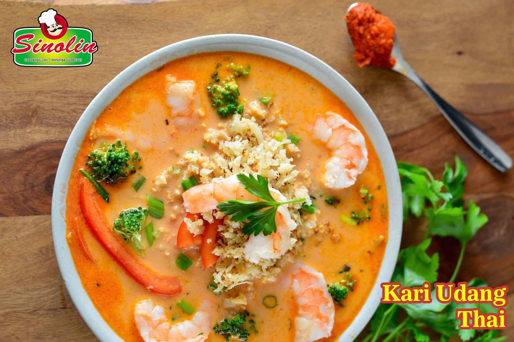Kari Udang Thai oleh Dapur Sinolin