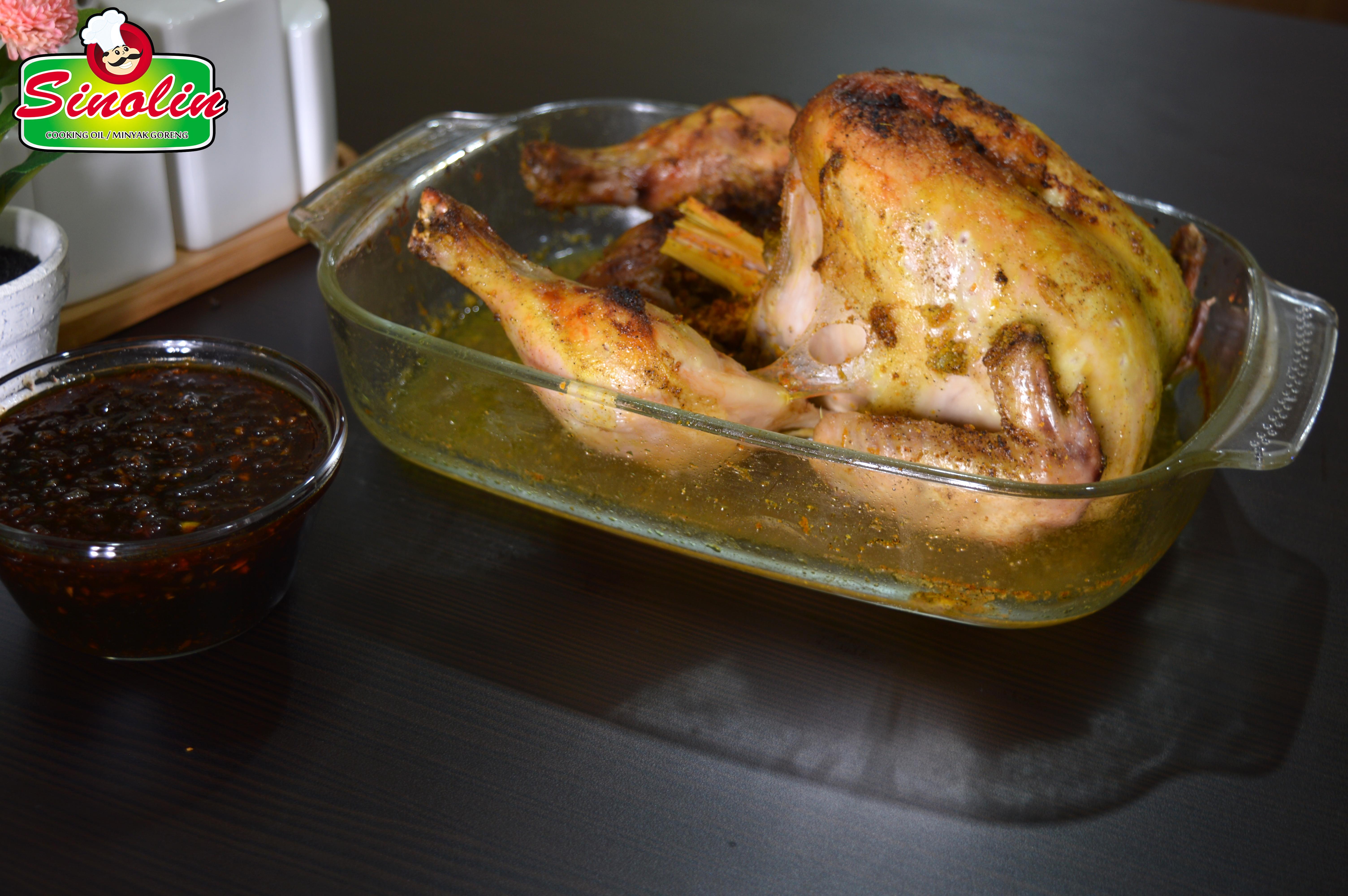 Ayam Panggang dengan Sereh oleh Dapur Sinolin