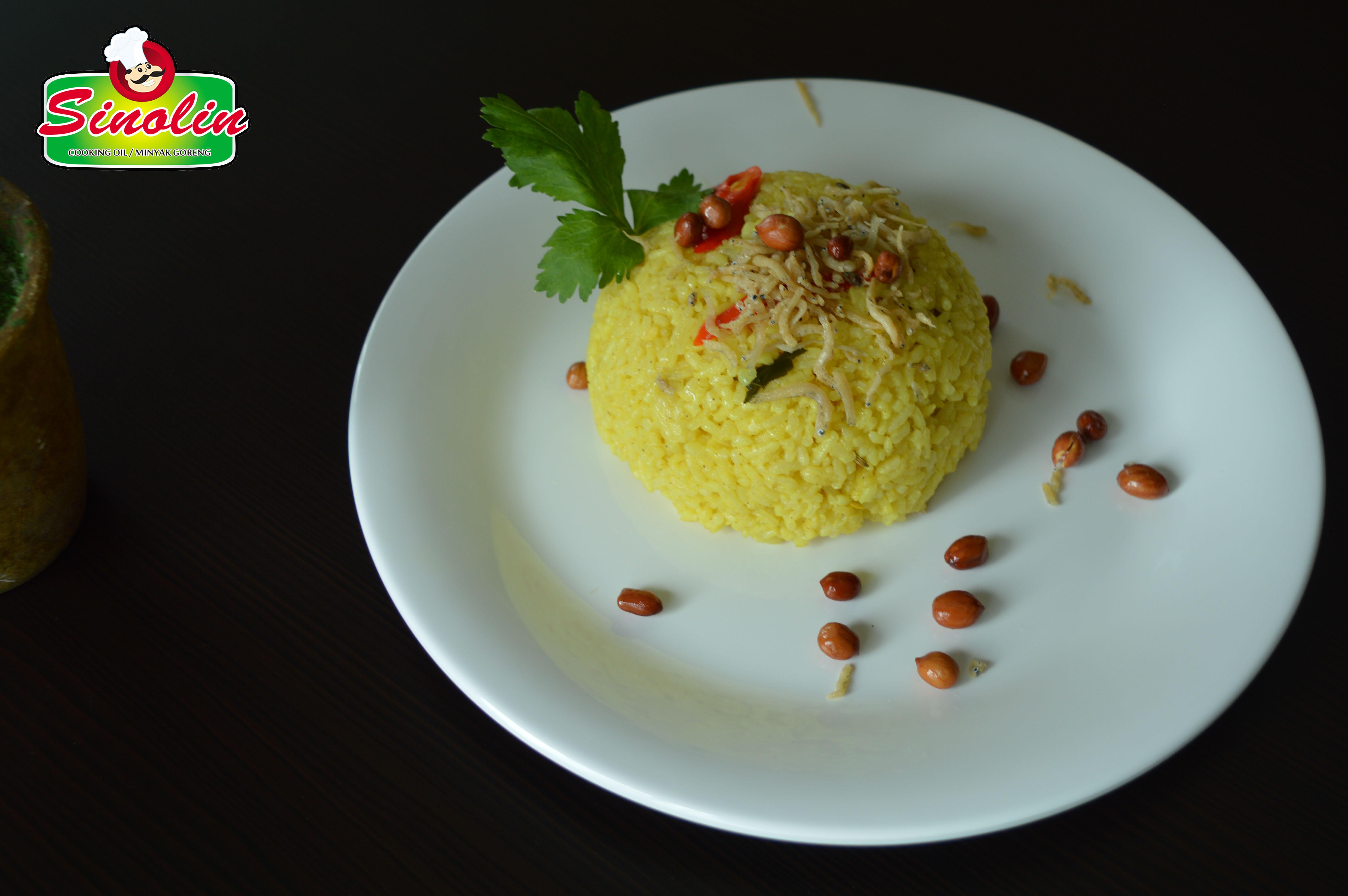Nasi Lemon dengan Ikan Teri oleh Dapur Sinolin