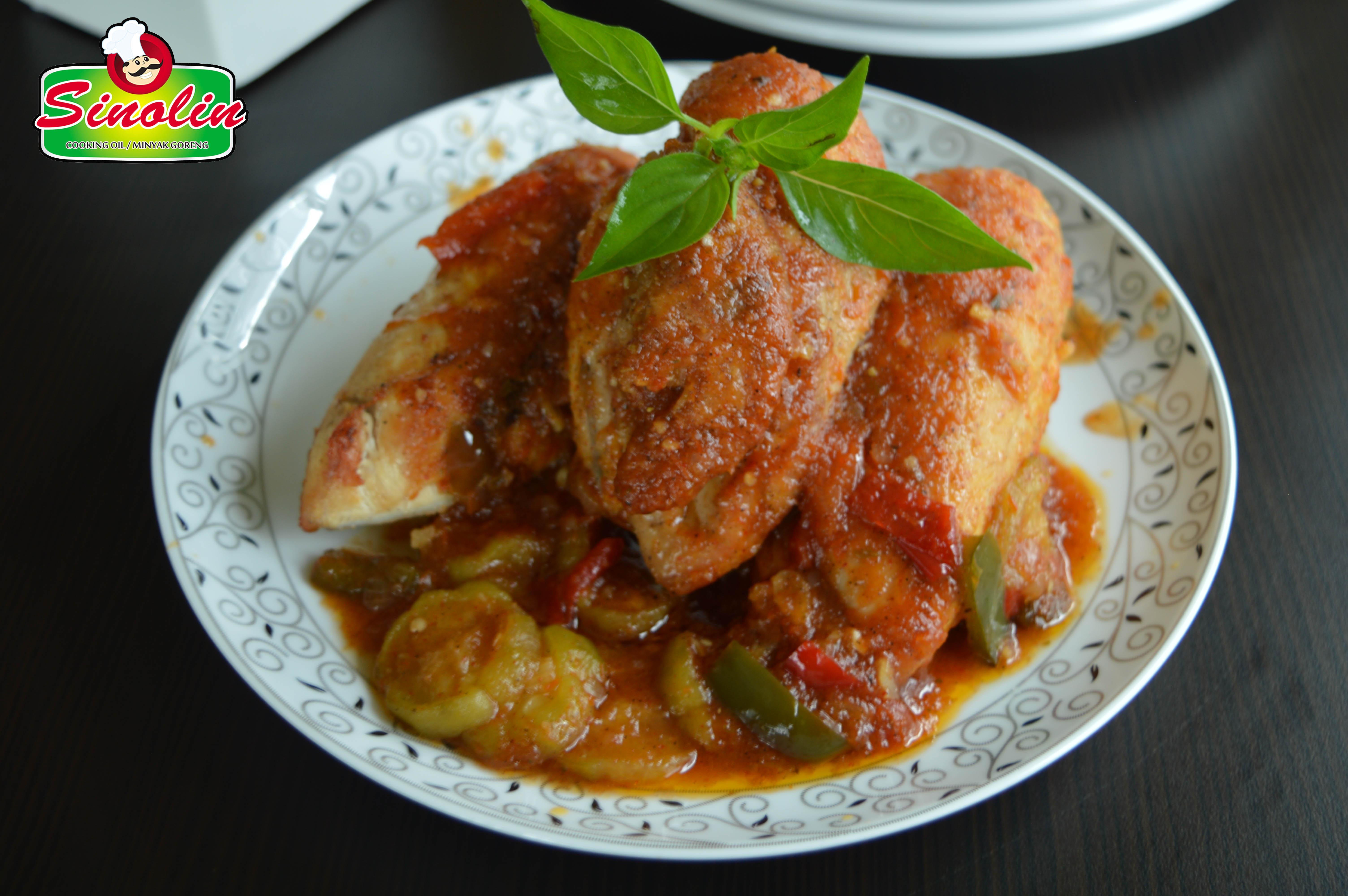 Ayam Potong dengan Gambas oleh Dapur Sinolin