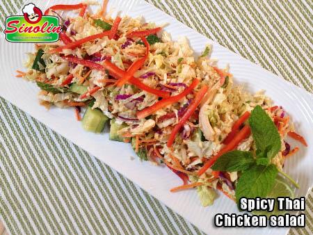 Salad ayam pedas Thailand OLEH Dapur Sinolin