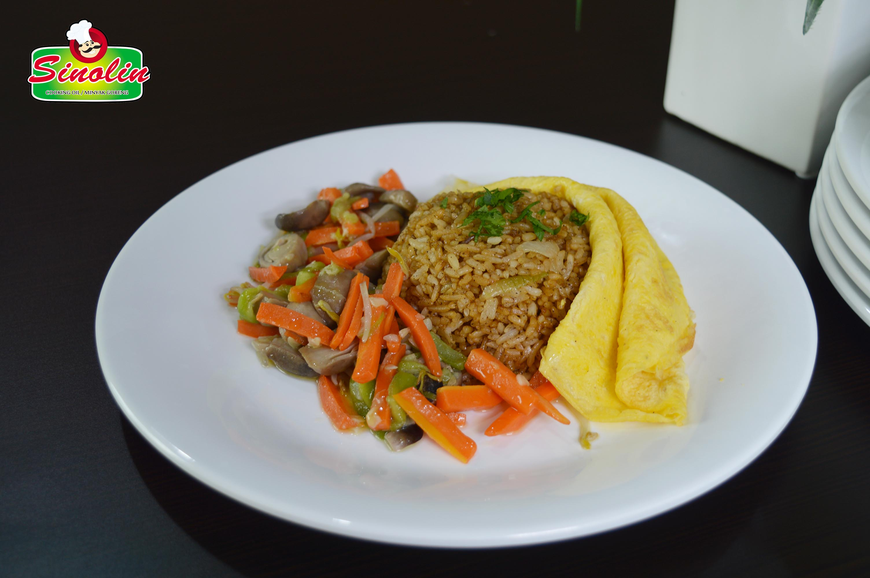 Nasi Goreng Vegetarian oleh Dapur Sinolin