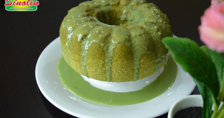 Japanese Matcha Cake by Dapur Sinolin
