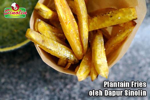 Plantain Fries oleh Dapur Sinolin