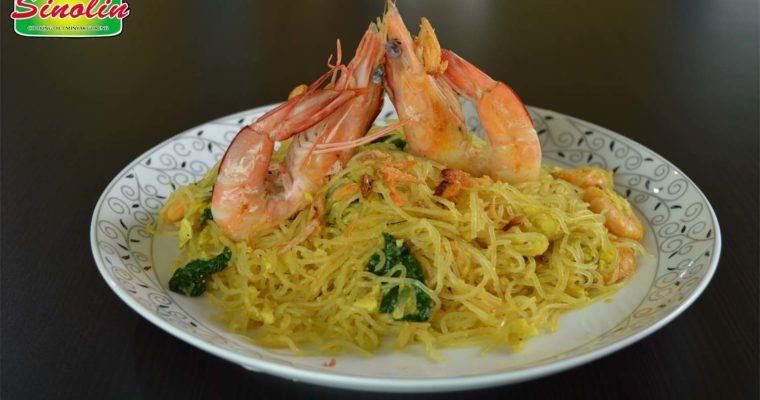 Mie Beras Seafood oleh Dapur Sinolin