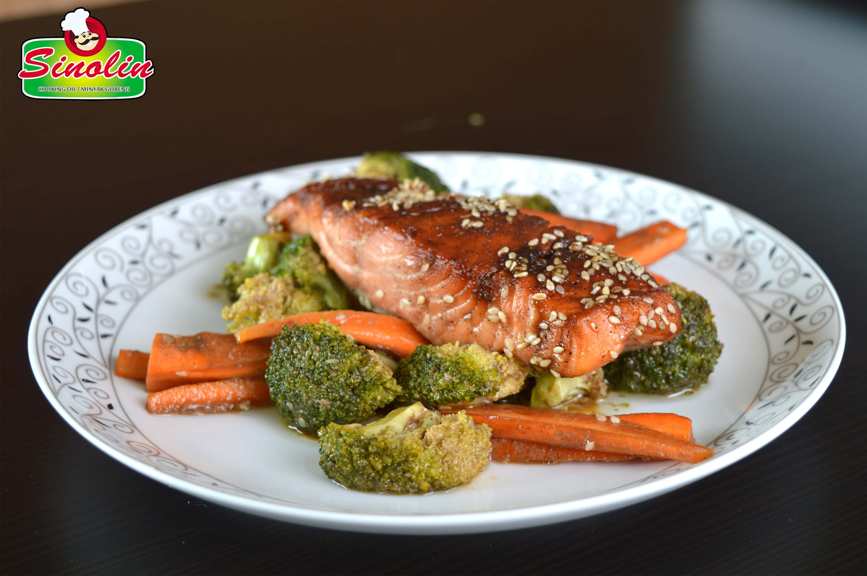 Teriyaki Salmon by Dapur Sinolin