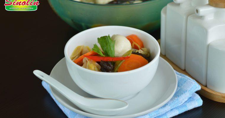 Sup Kimlo Dengan Tahu Putih oleh Dapur Sinolin