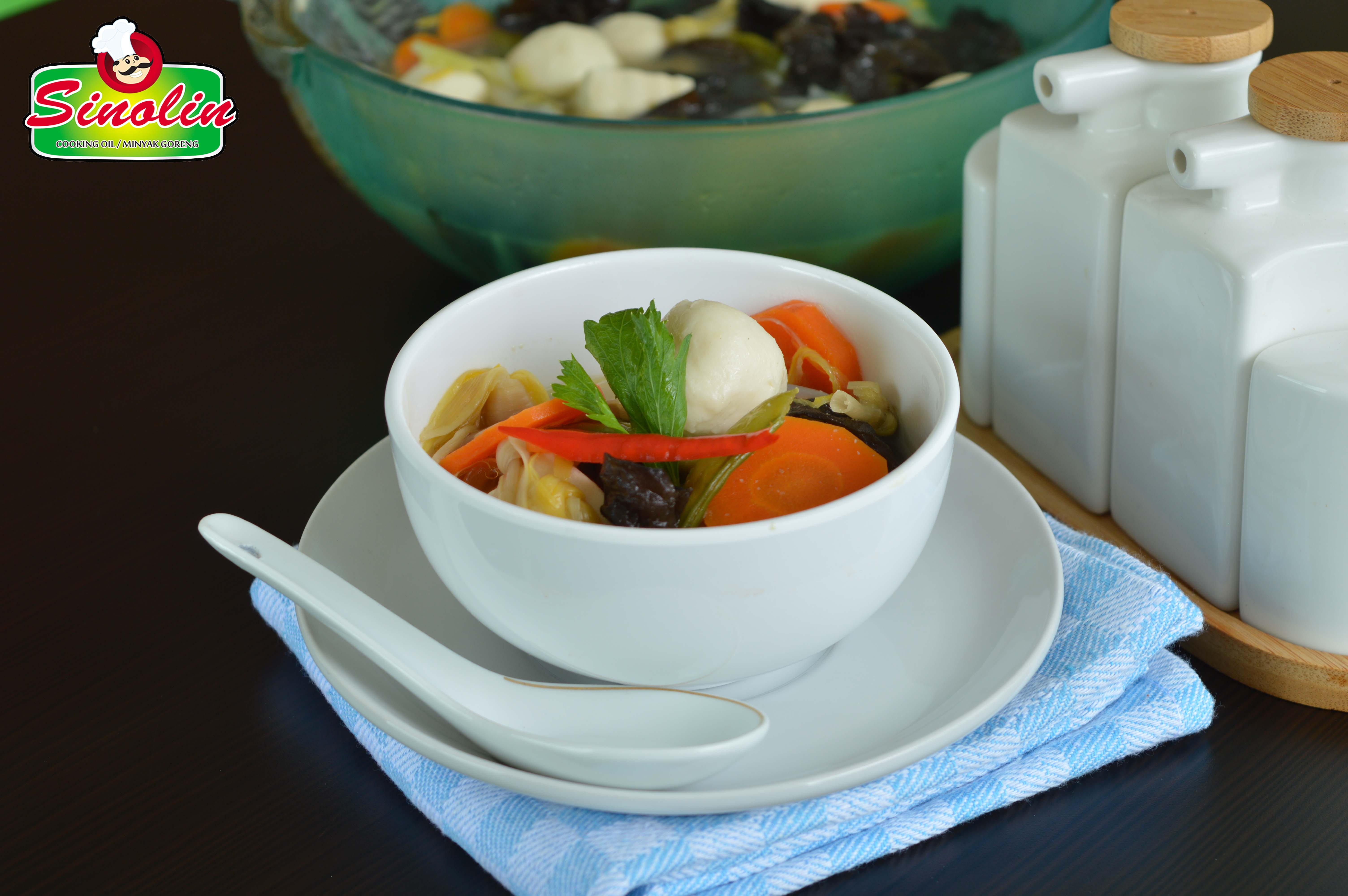 Kimlo Soup with White Tofu by Dapur Sinolin