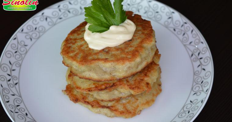 Kue Pancake Kentang Dengan Daging oleh Dapur Sinolin