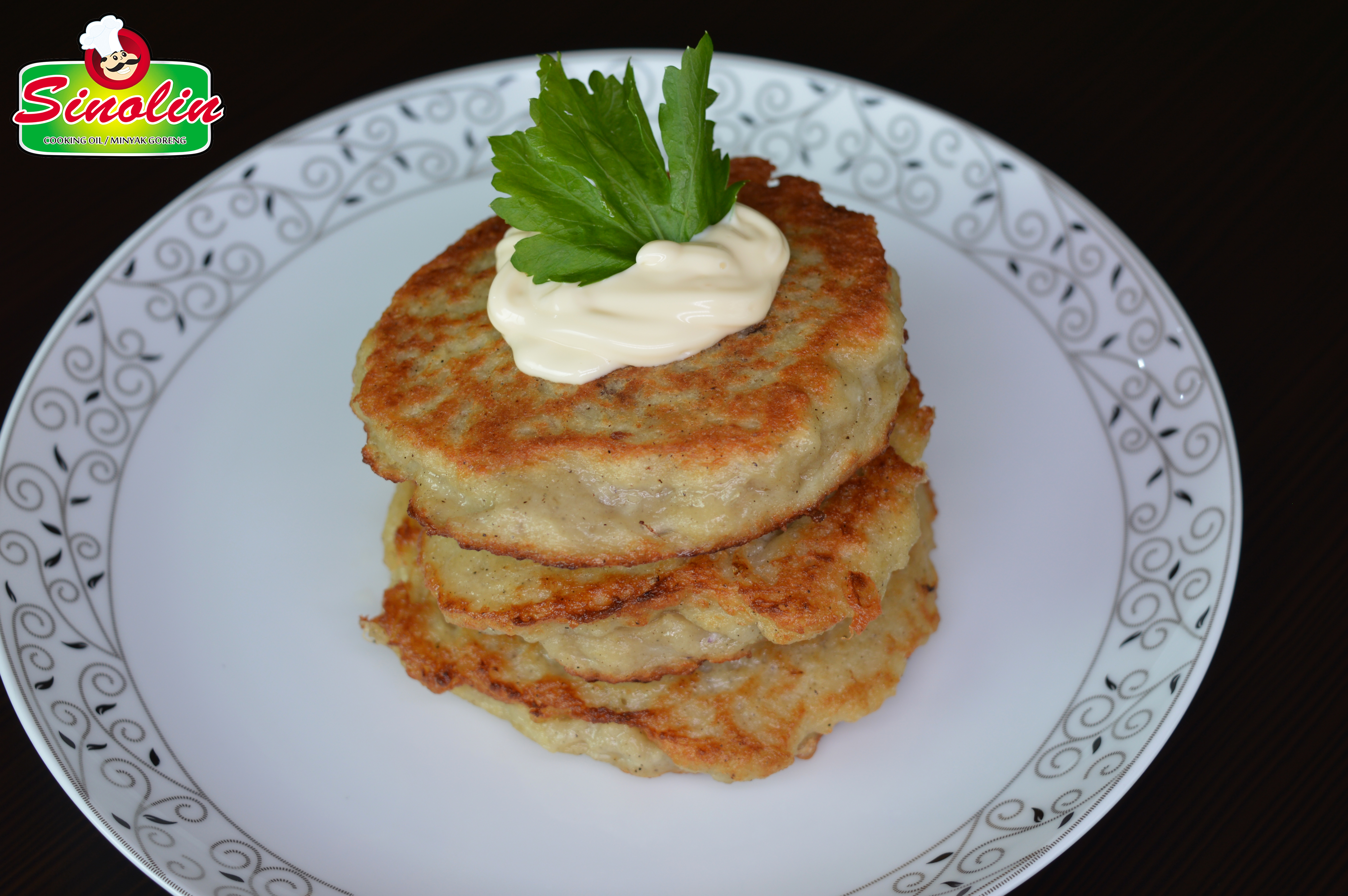 Meat Stuffed Potato Pancakes by Dapur Sinolin