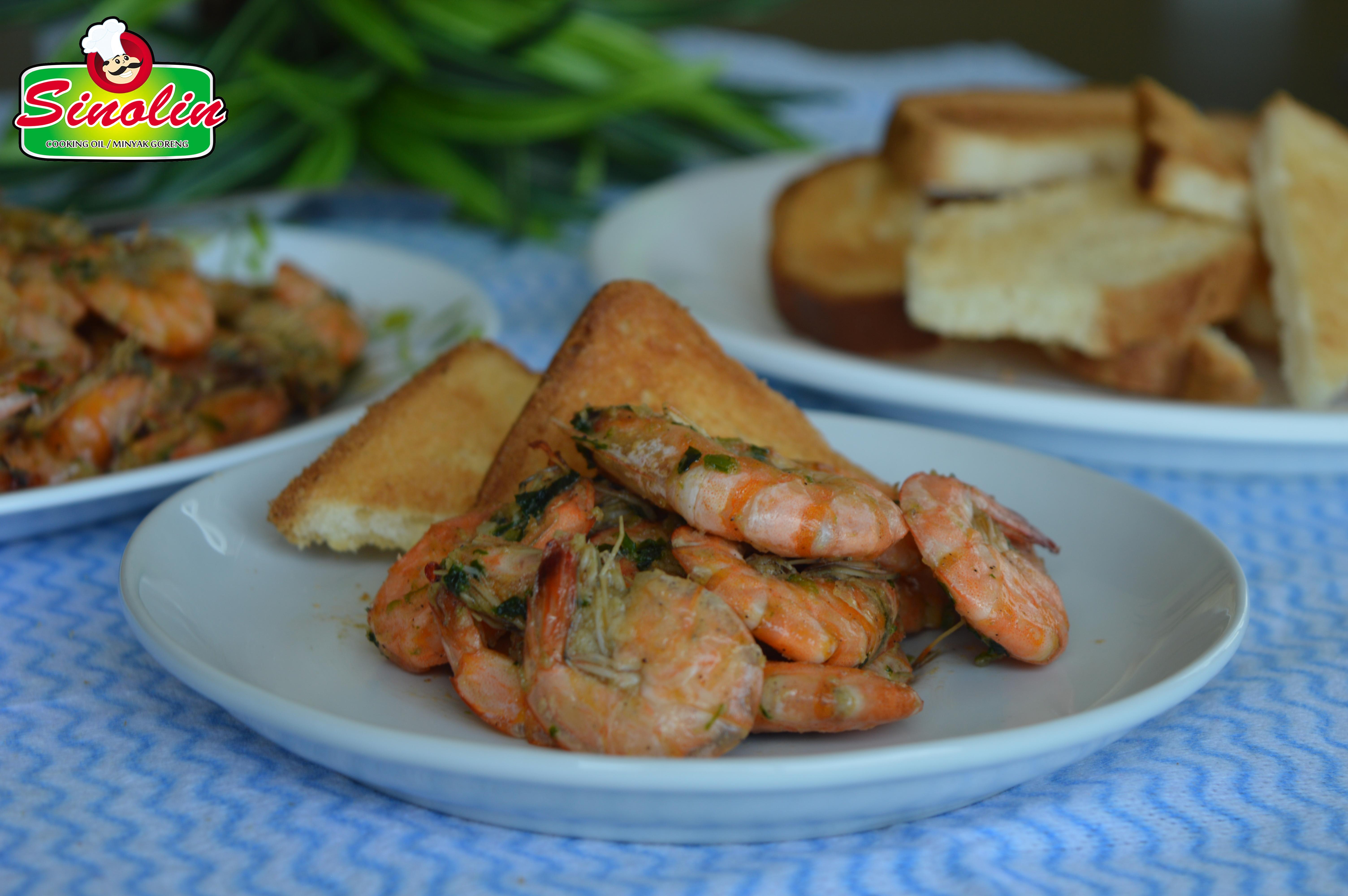 Prawns in Lime, Ginger, Cilantro and Garlic by Dapur Sinolin