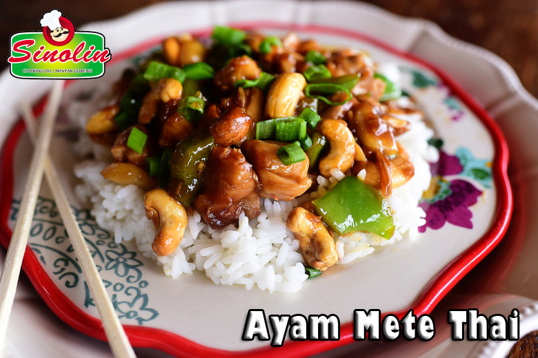 Ayam Mete Thai oleh Dapur Sinolin