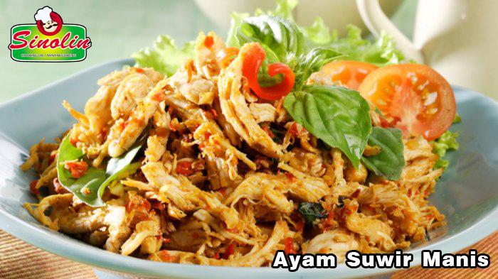 Ayam Suwir oleh Dapur Sinolin