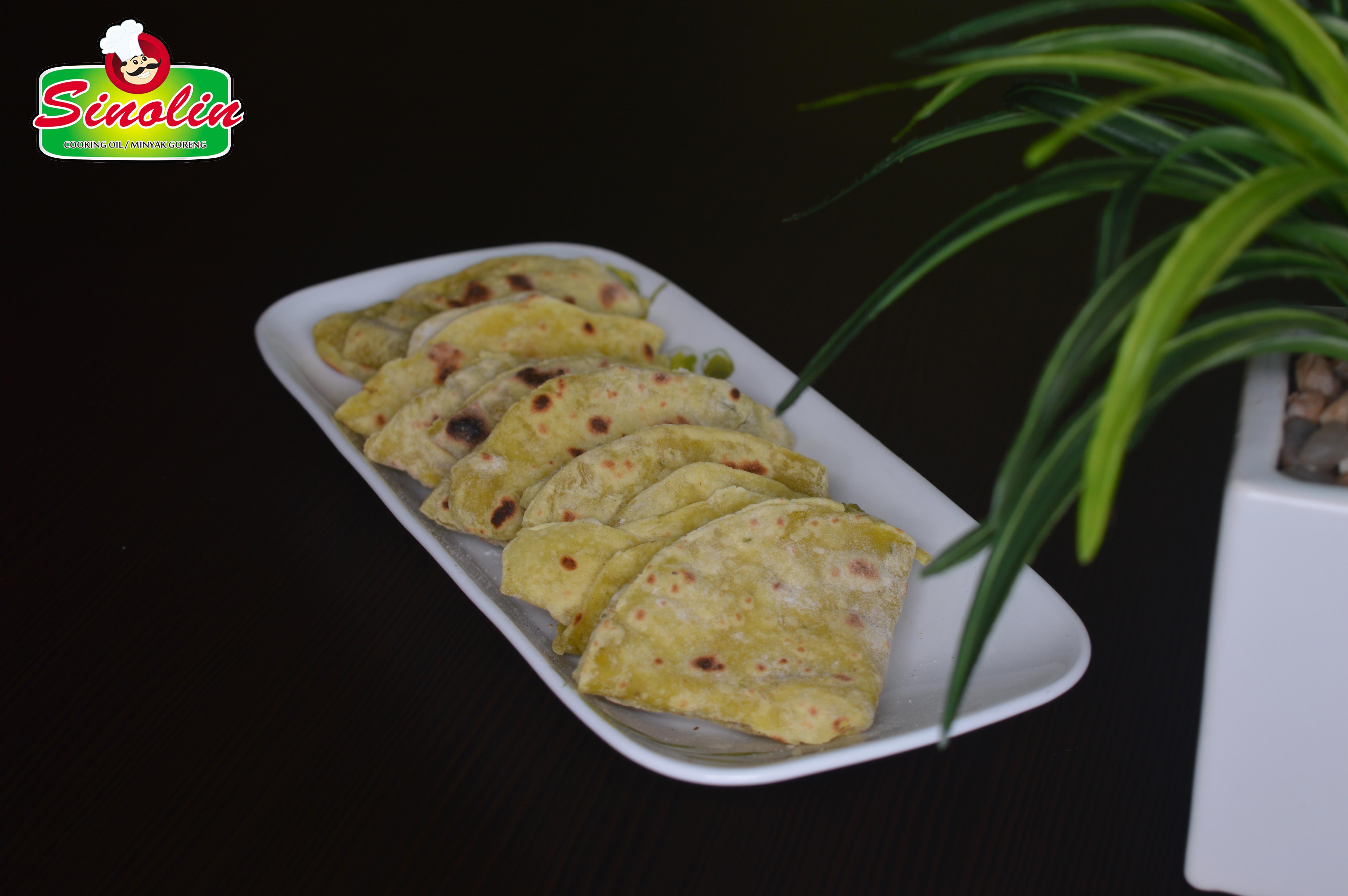 Alpukat Paratha oleh Dapur Sinolin