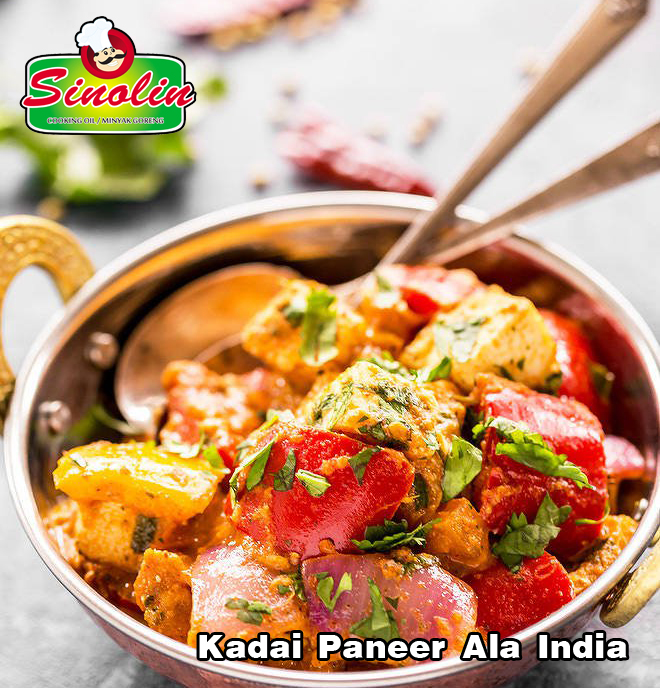 Kadai Paneer oleh Dapur Sinolin