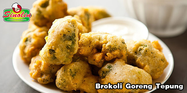 Brokoli Goreng Tepung oleh Dapur Sinolin