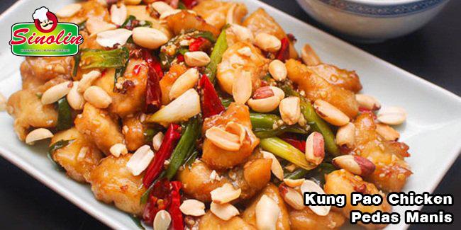 Kung Pao Chicken Pedas Manis oleh Dapur Sinolin