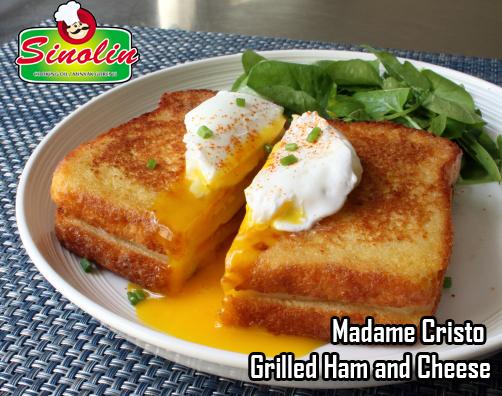 Madame Cristo – Grilled Ham and Cheese oleh Dapur Sinolin