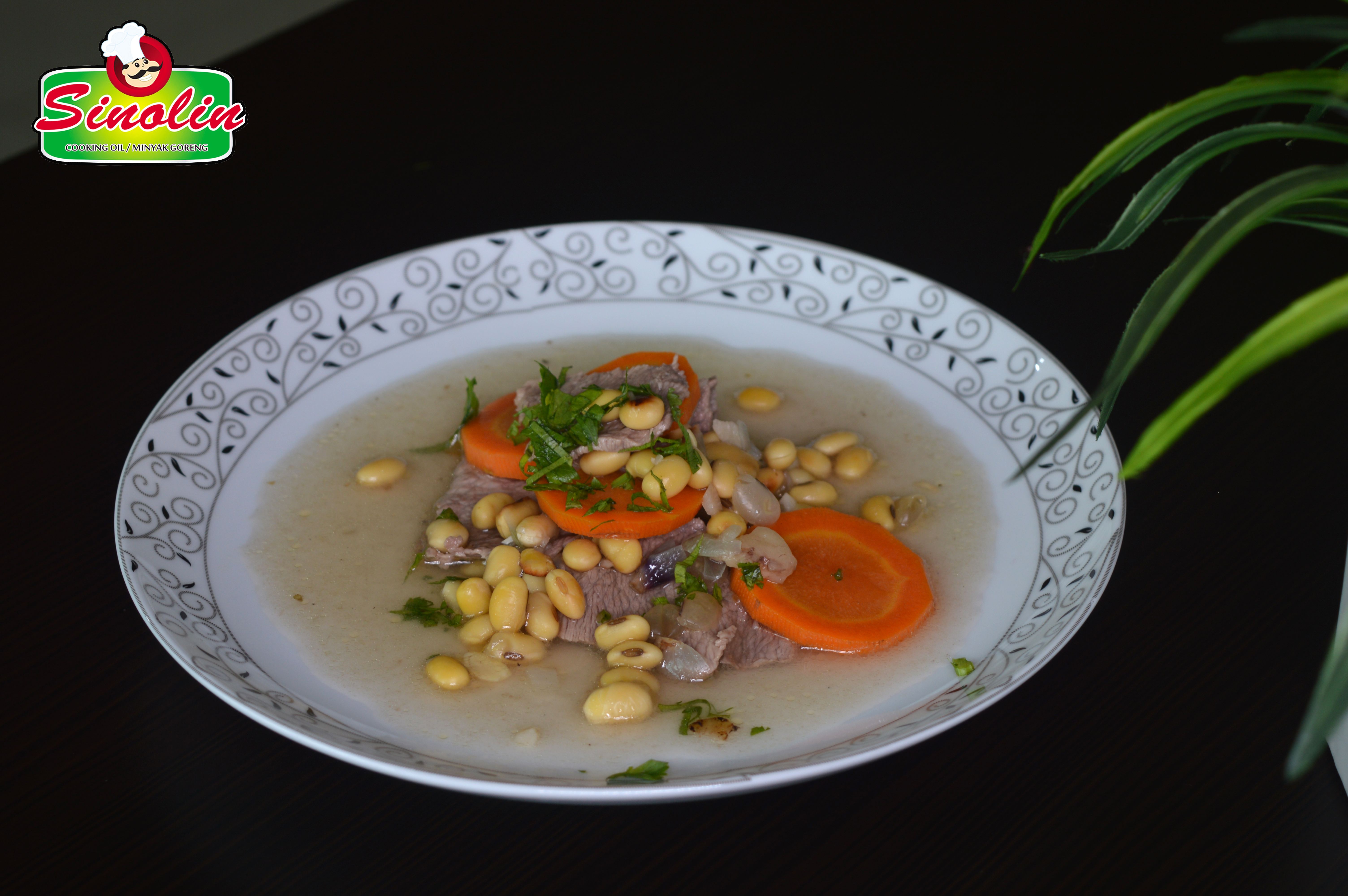WHITE BEAN AND BEEF SOUP BY DAPUR SINOLIN
