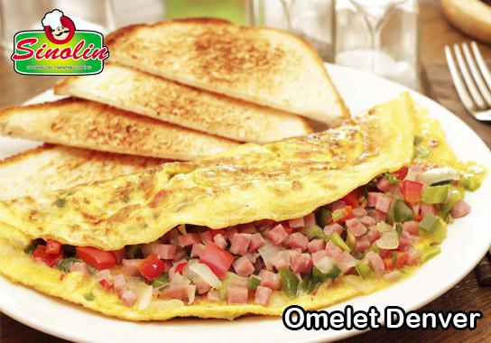 Omelet Denver oleh Dapur Sinolin