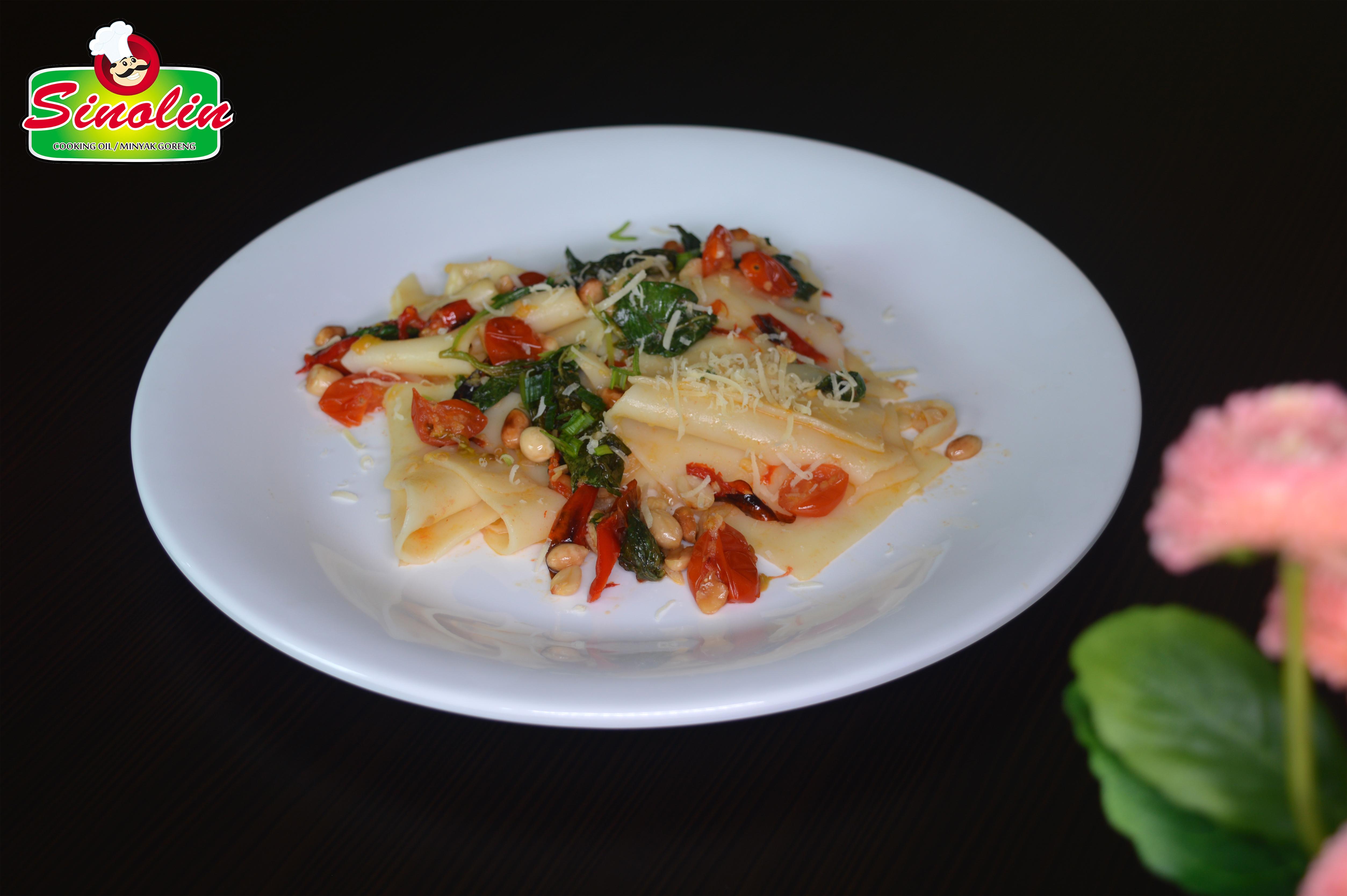 Lasagna dengan Bayam dan Keju OLeh Dapur Sinolin