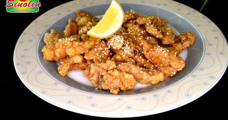 Ayam Lemon Ala Cina oleh Dapur Sinolin