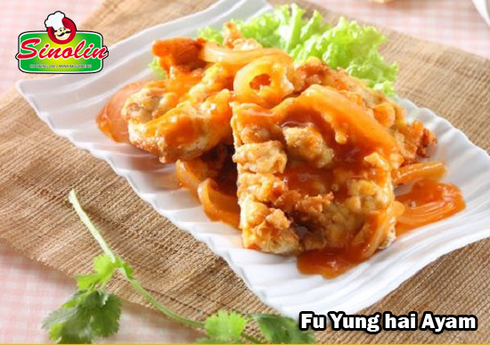 Fu Yung hai Ayam  oleh Dapur Sinolin