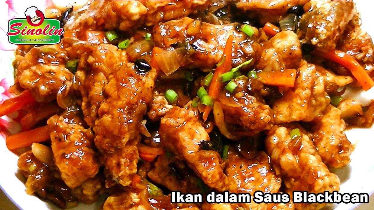 Ikan dalam saus Blackbean oleh Dapur Sinolin