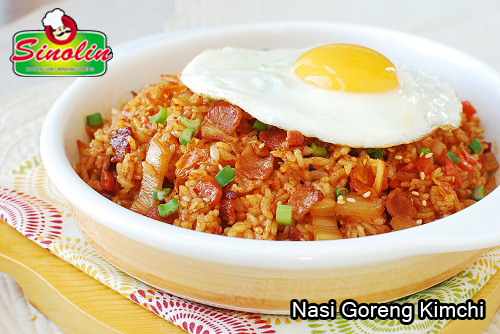 Nasi Goreng Kimchi oleh Dapur Sinolin