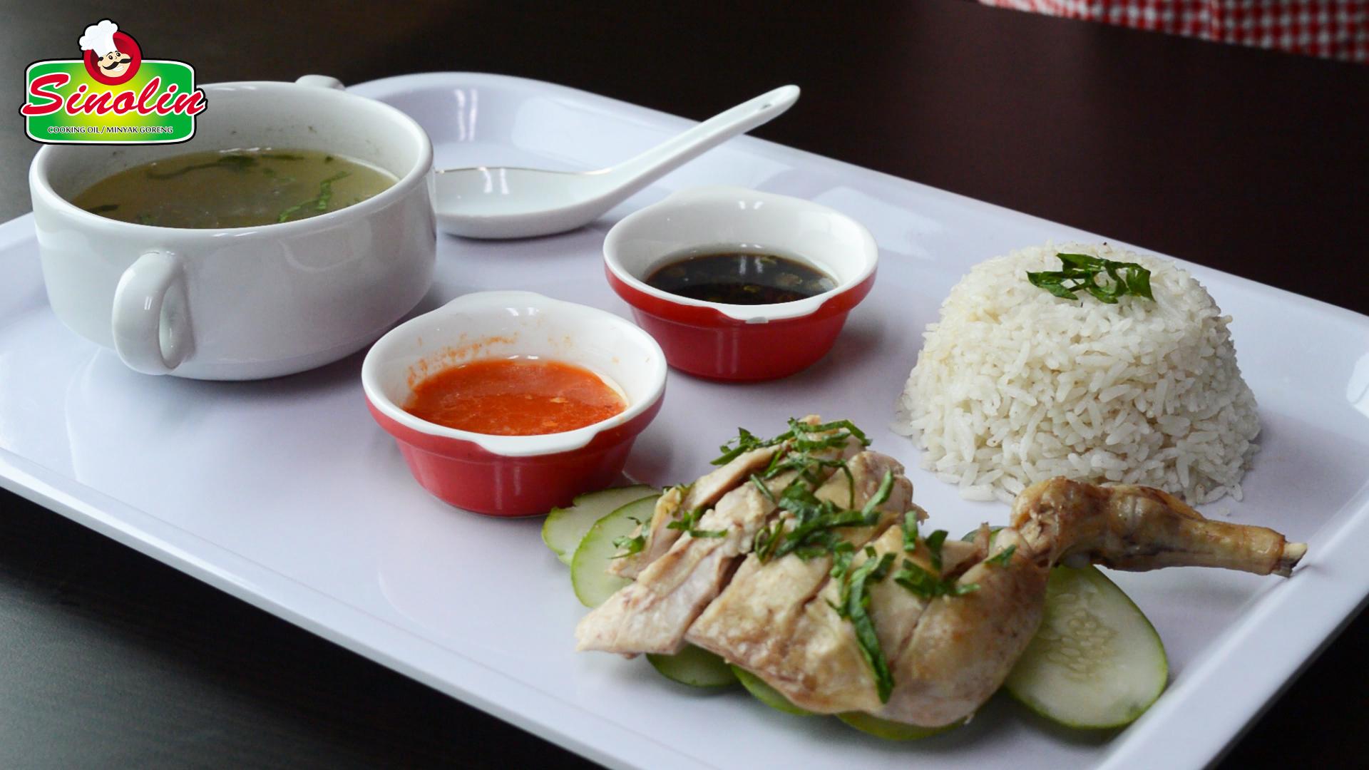 Hainan Chicken Recipe by Dapur Sinolin