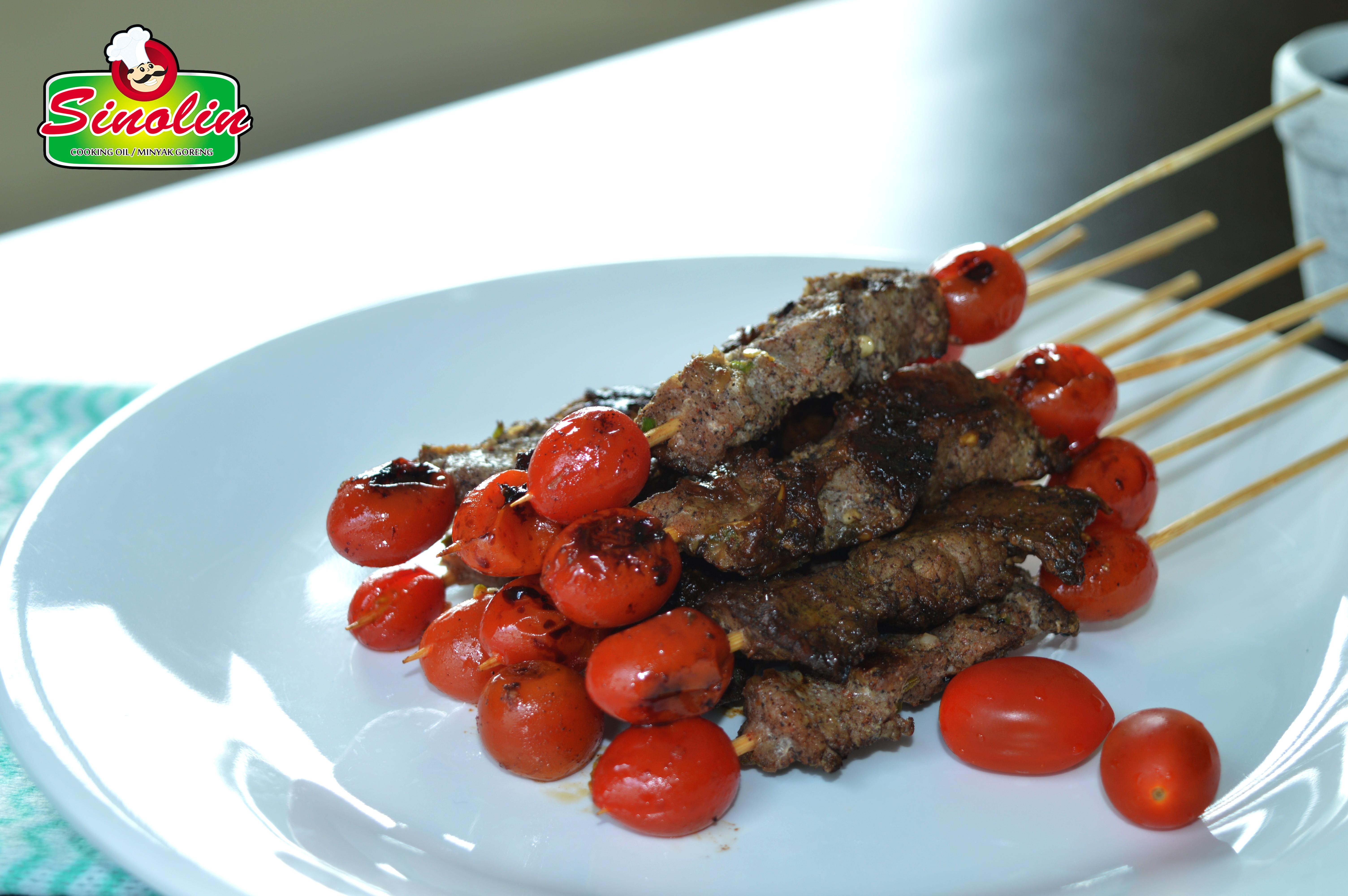 Kebab Turki dengan Tomat Cherry oleh Dapur Sinolin