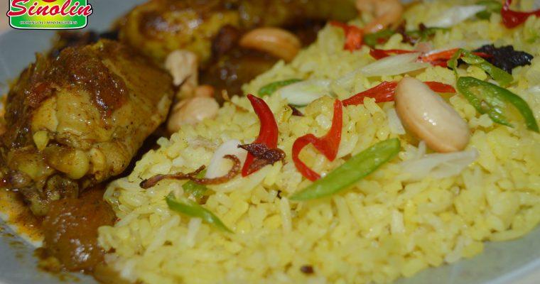 Malaysian Nasi Briyani  oleh Dapur Sinolin