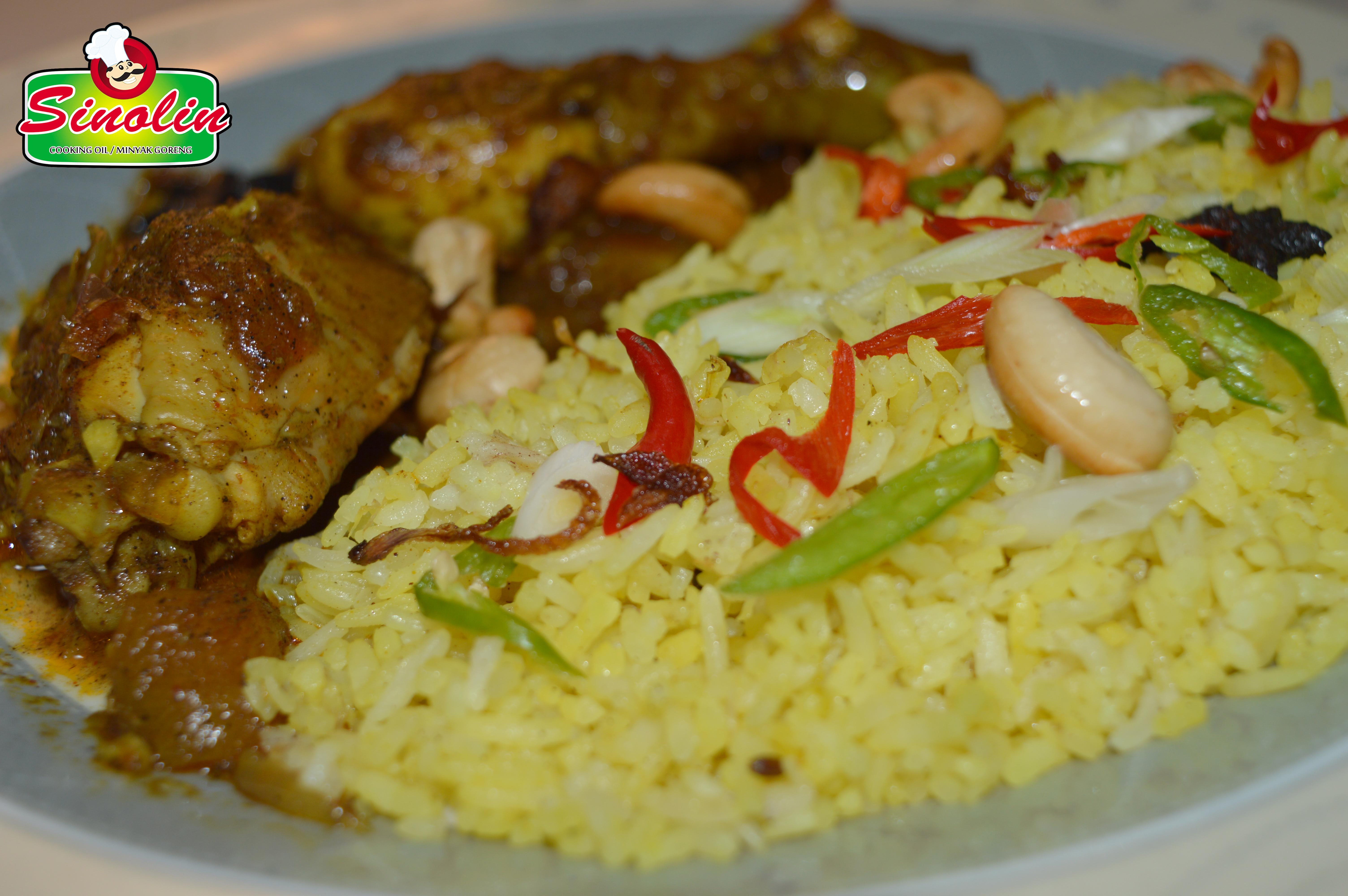 Malaysian Nasi Briyani  by Dapur Sinolin