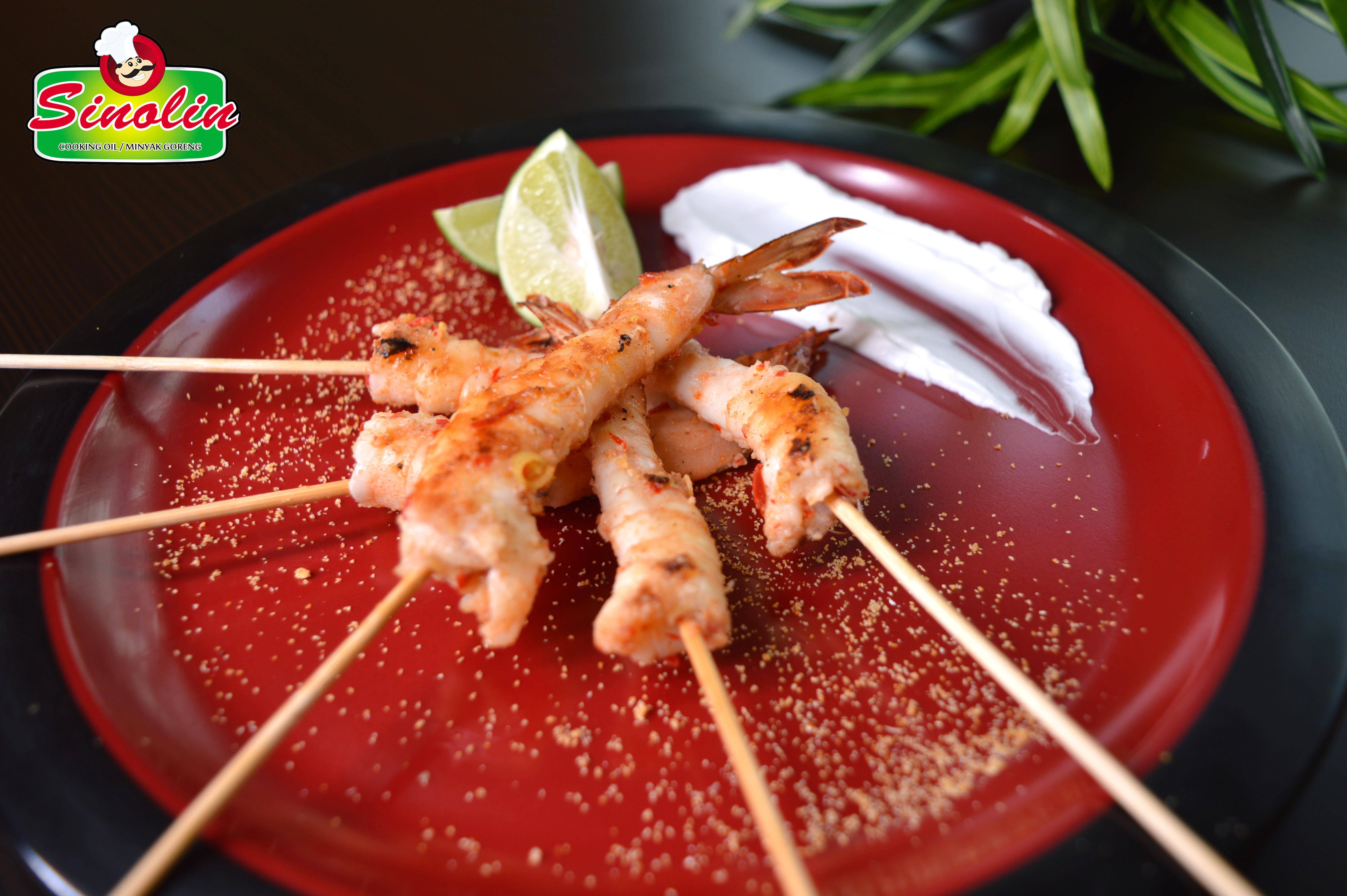 Chili & Lemongrass Shrimp By  Dapur Sinolin