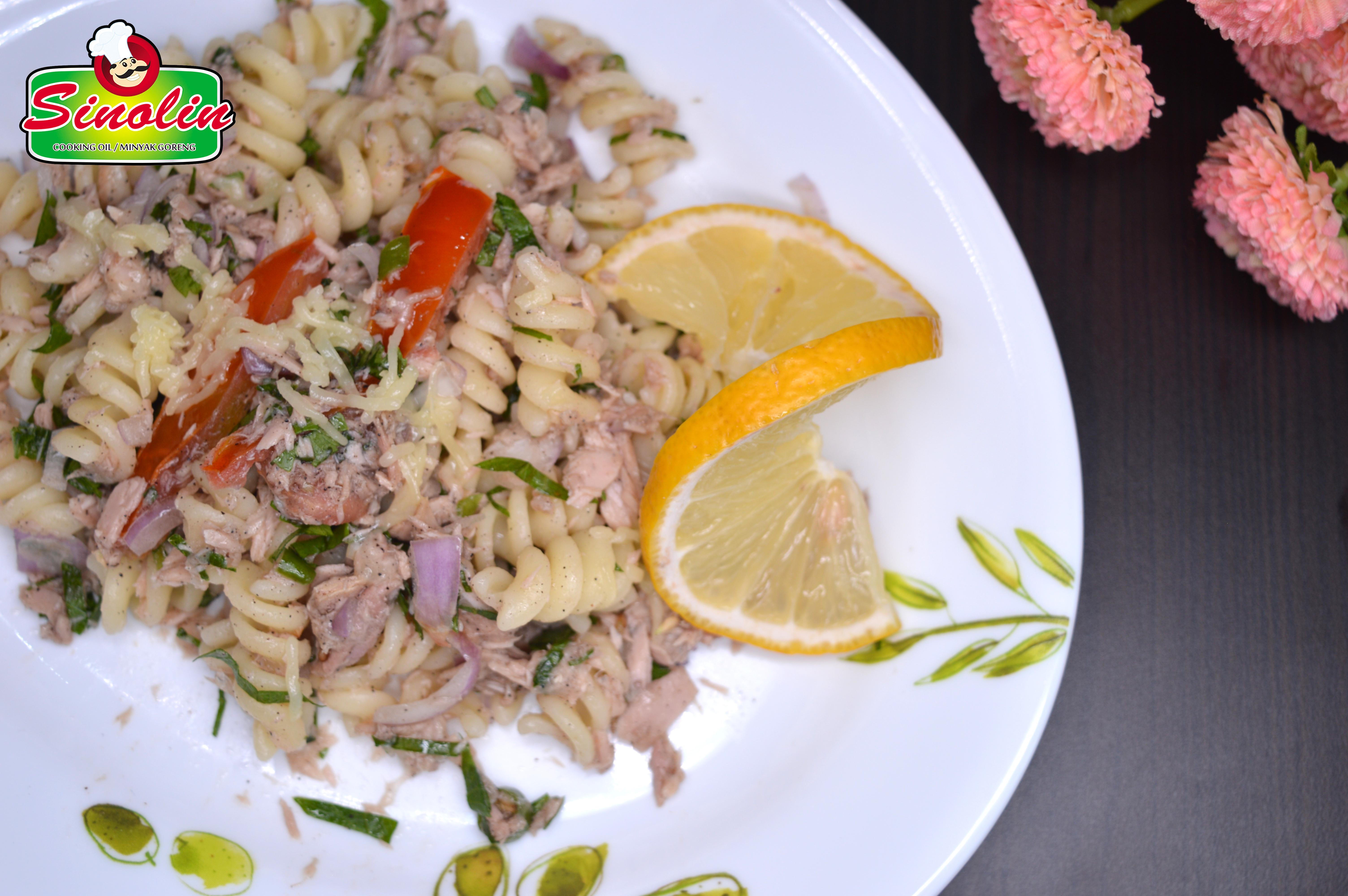 Mediterranean Tuna Pasta  by Dapur Sinolin