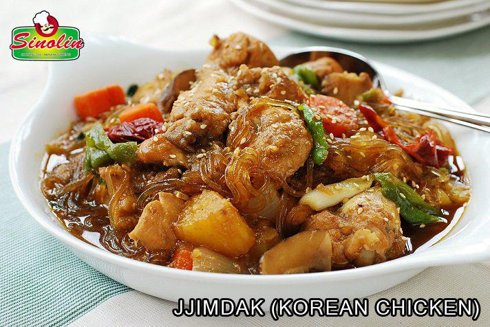 JJIMDAK (KOREAN CHICKEN) oleh Dapur Sinolin