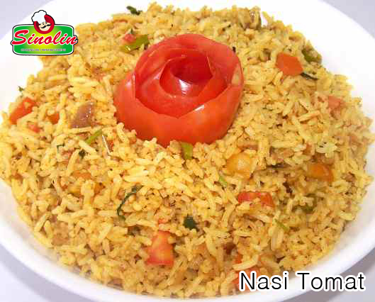 Nasi Tomat oleh Dapur Sinolin