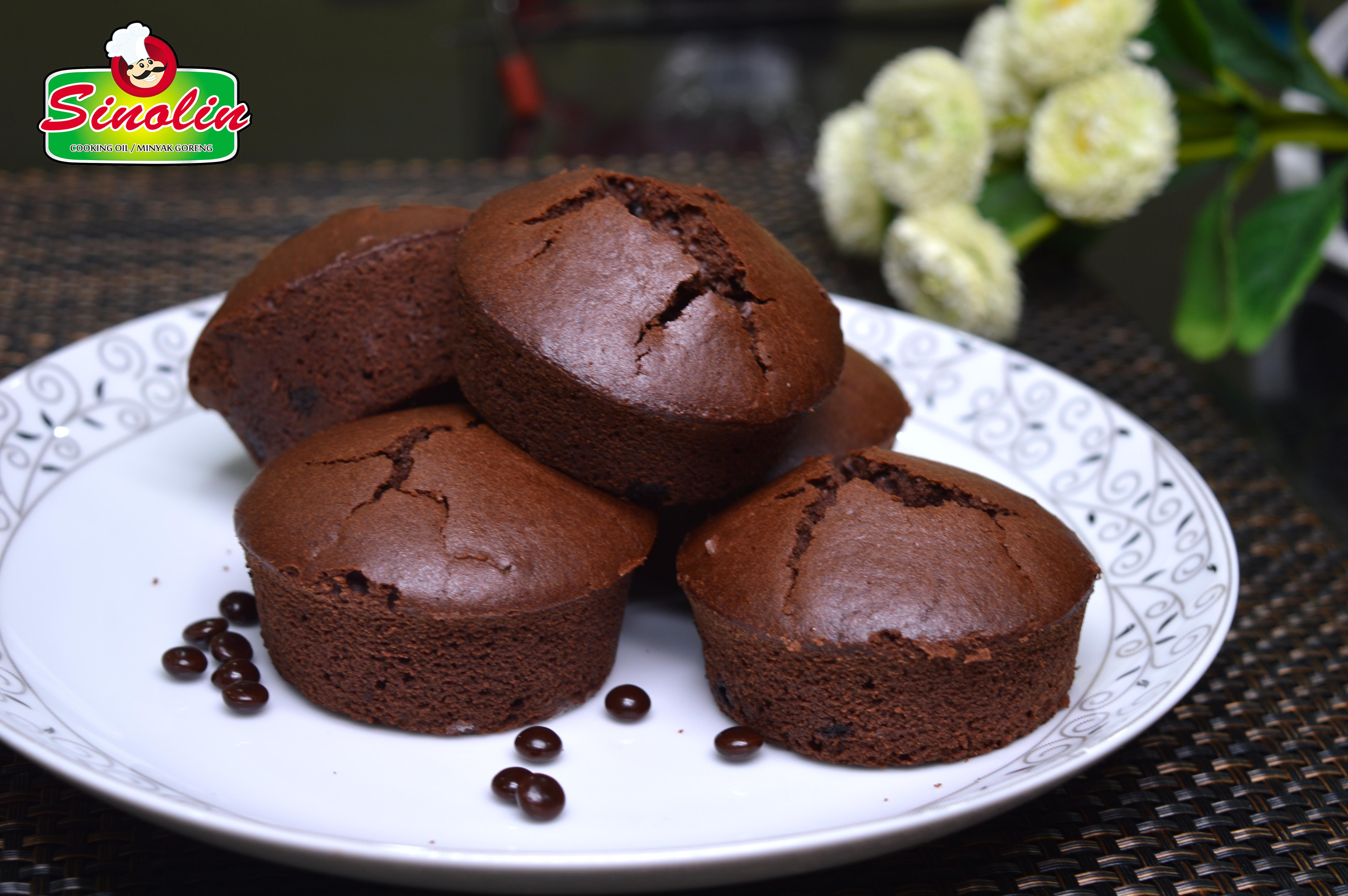 COKLAT MUFFIN MINI oleh Dapur Sinolin