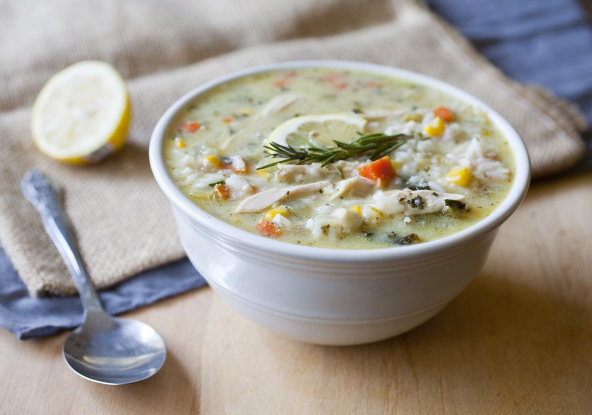 Lemon Chicken and Rice Soup by Dapur Sinolin