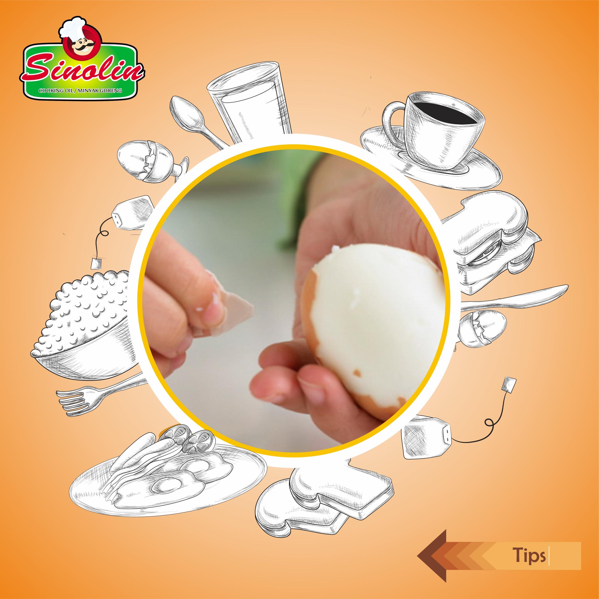 Tips Mudah Mengupas Telur Untuk Menjadi Makanan Lezat oleh Dapur Sinolin