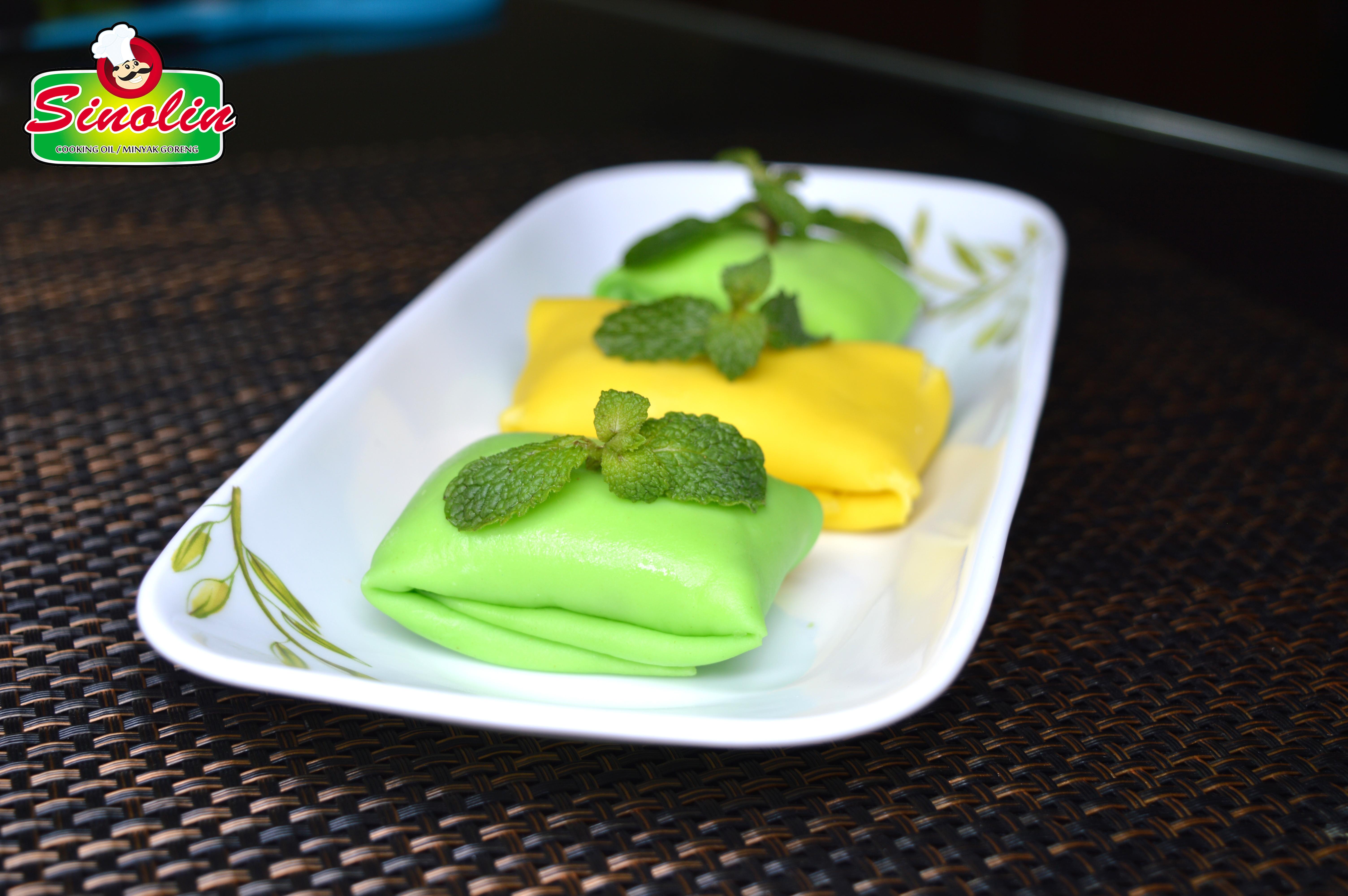 Pancake Durian oleh Dapur Sinolin